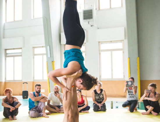 An AcroYoga Elemental wknd with Francesco Semino & Jaqui Wan